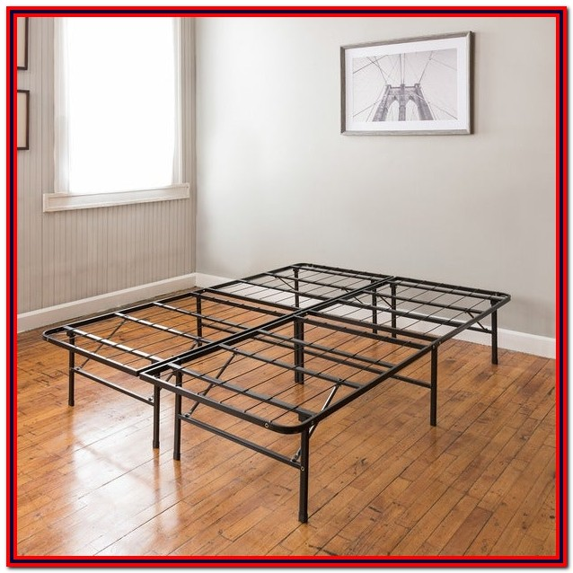 14 In. Full Metal Platform Bed Frame