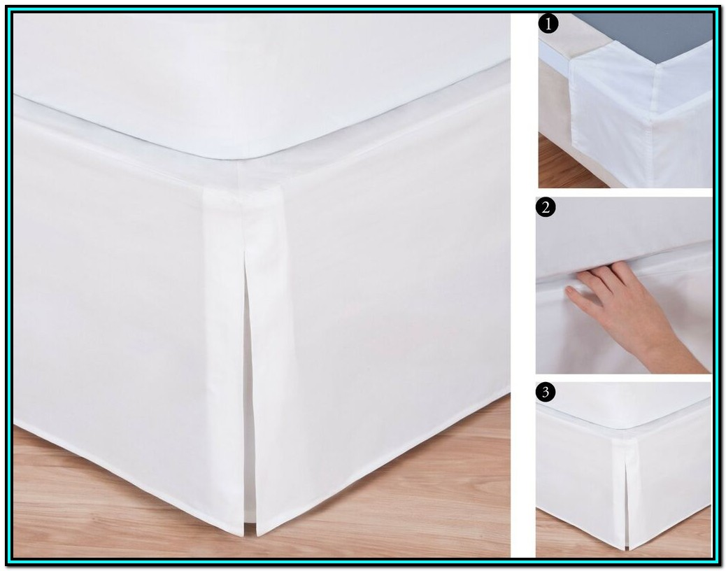 18 Inch Split Corner Bed Skirt