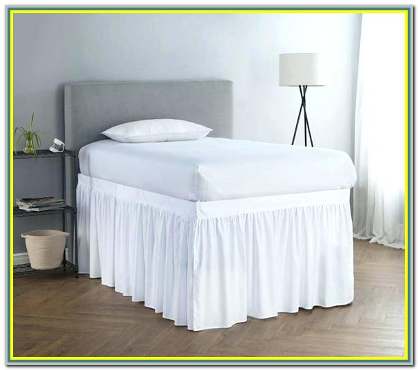 21 Inch Split Corner Bed Skirt