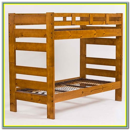 American Made Wood Bunk Beds