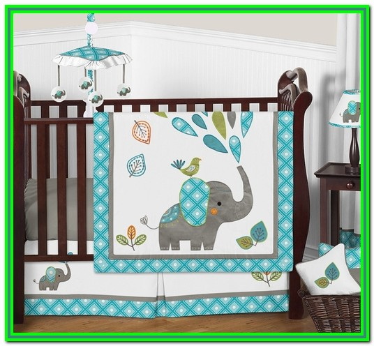 Baby Boy Crib Bedding Sets Elephant