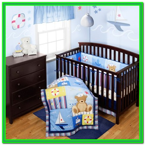 Baby Boy Crib Bedding Sets Walmart