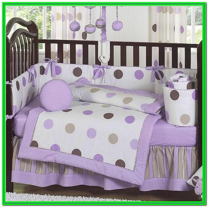 Baby Girl Crib Bedding Sets Purple