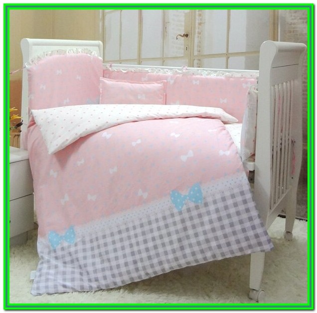 Baby Girl Crib Bedding Sets With Bumper