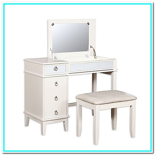 Bed Bath And Beyond White Makeup Vanity