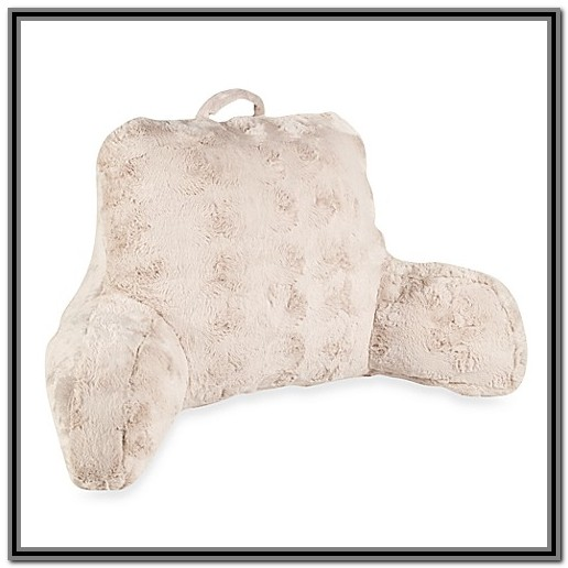 Bed Rest Pillow With Arms Bed Bath And Beyond