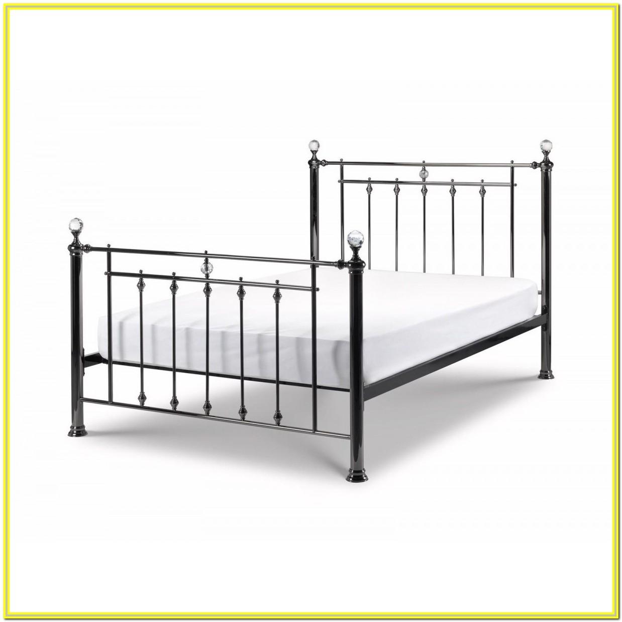 Black Metal Super King Bed Frame