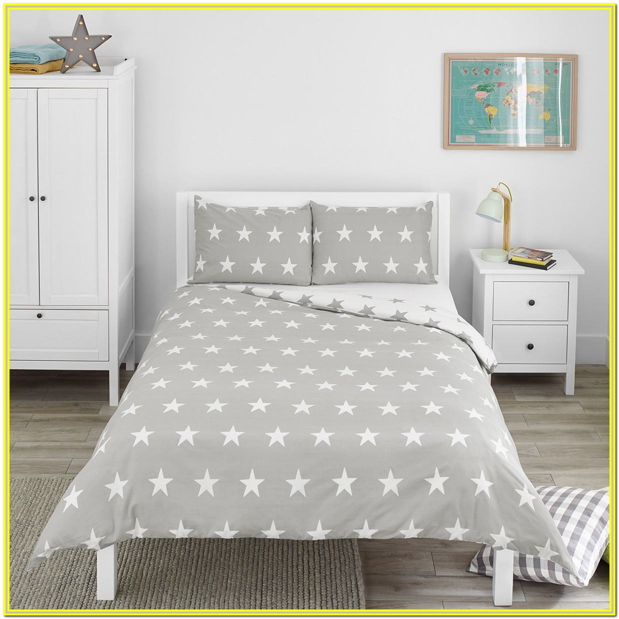 Black White Gray Bedding Sets