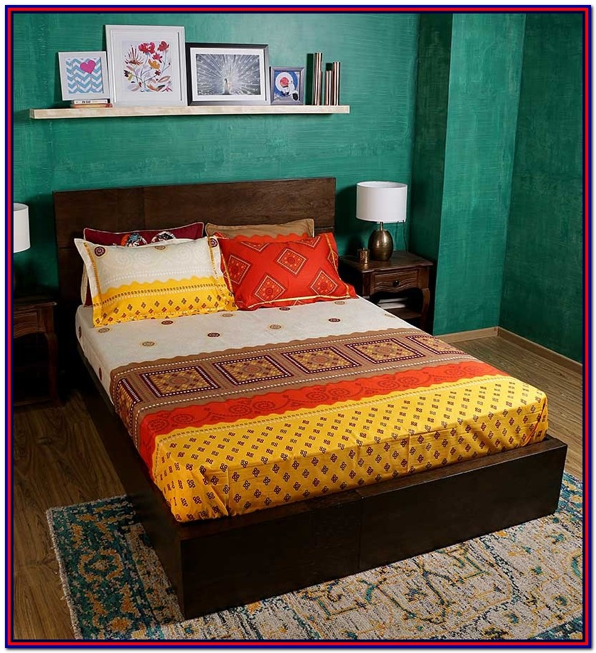 Bombay Dyeing King Size Bed Sheets Online India