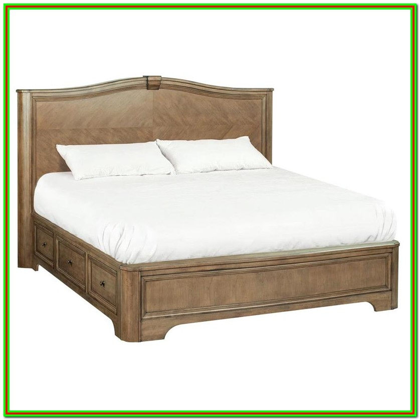 Build King Size Platform Bed With Storage