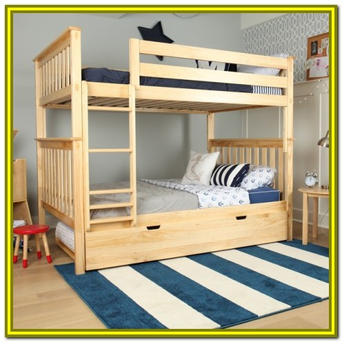 Bunk Beds Full Over Full Wood