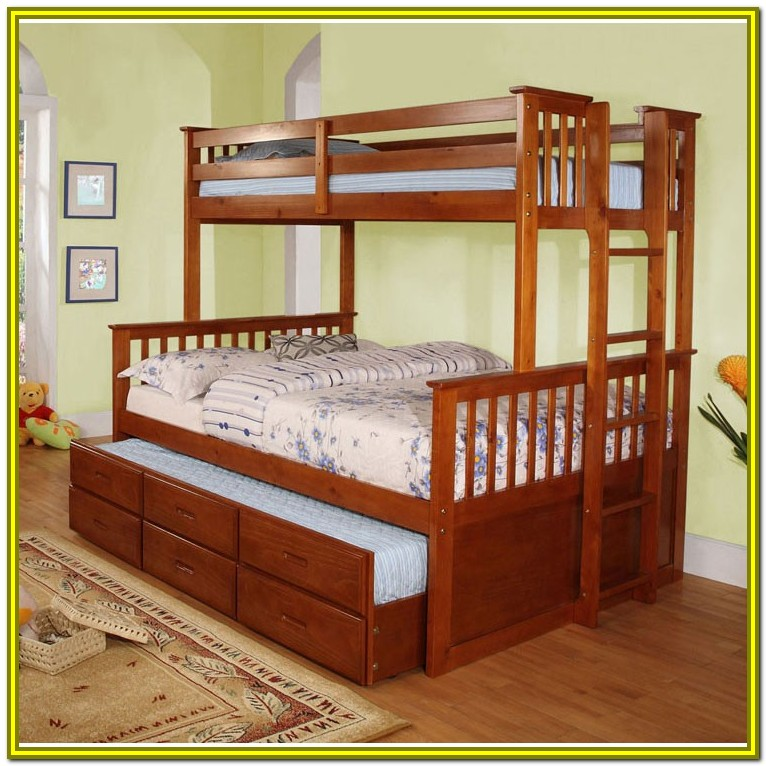 Bunk Beds Full Over Queen With Trundle
