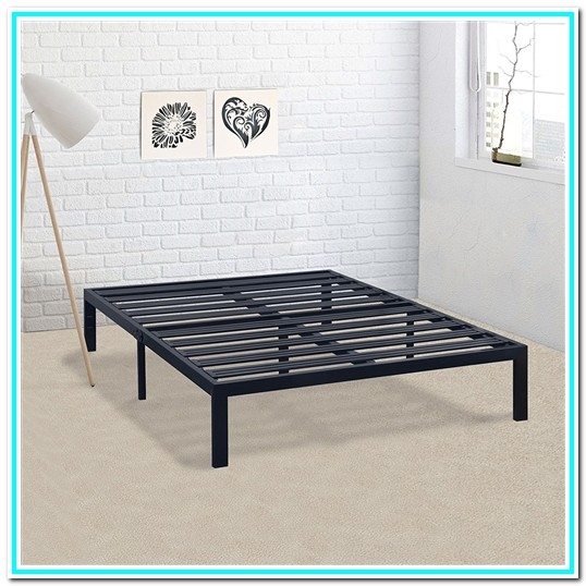 Cal King Metal Platform Bed Frame