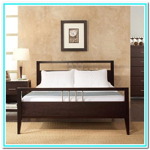 Cal King Platform Bed No Headboard