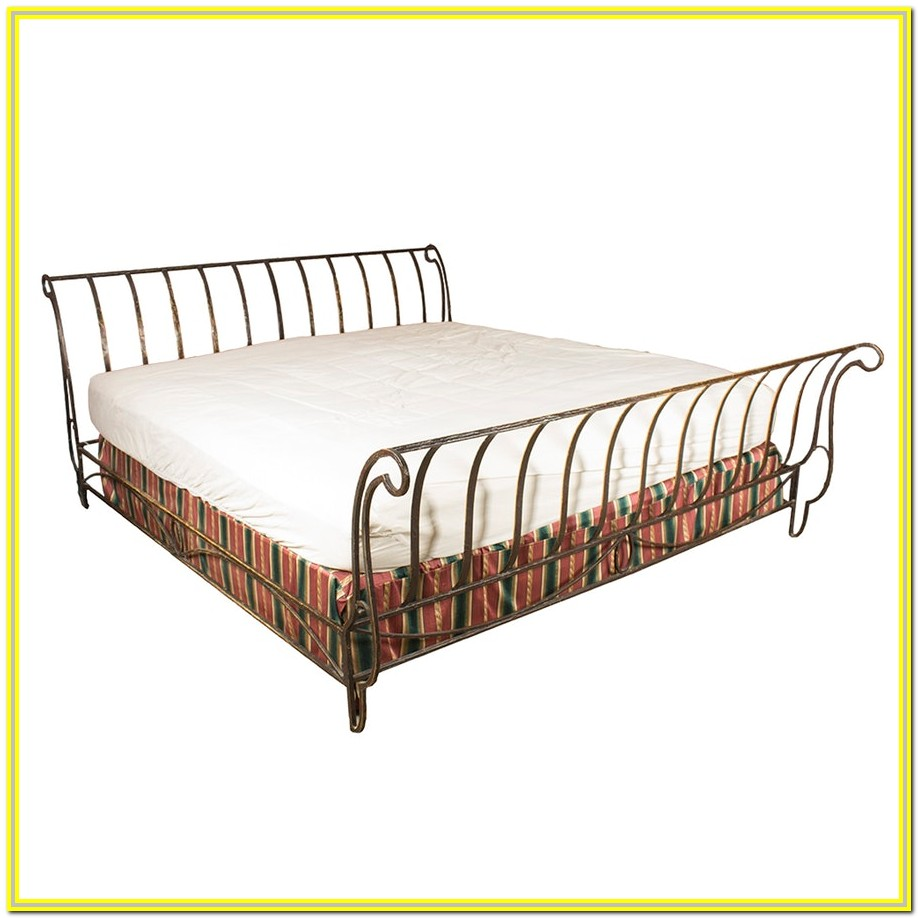 California King Metal Bed Frame Dimensions