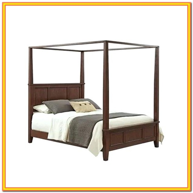 Canopy Bed Frame Full Size Ikea