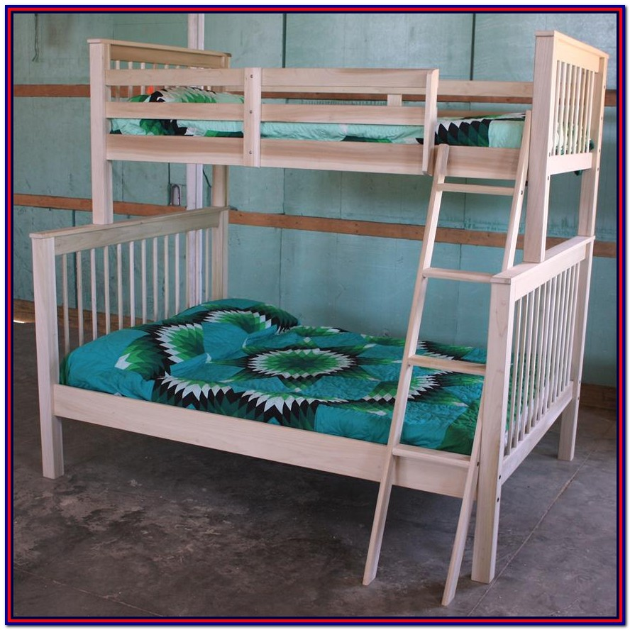 Diy Bunk Bed Plans Twin Over Full