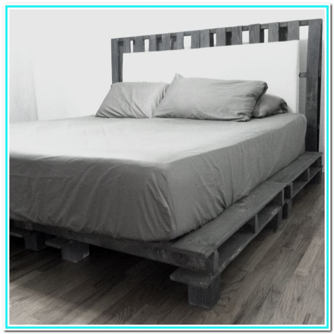 Diy Cal King Platform Bed Frame