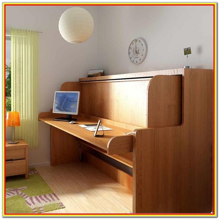 Diy Horizontal Murphy Bed With Desk