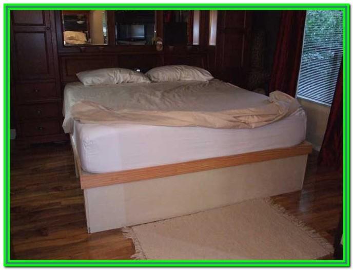 Diy King Bed Frame With Storage Plans