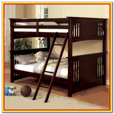 Full Over Full Bunk Bed Construction Plans