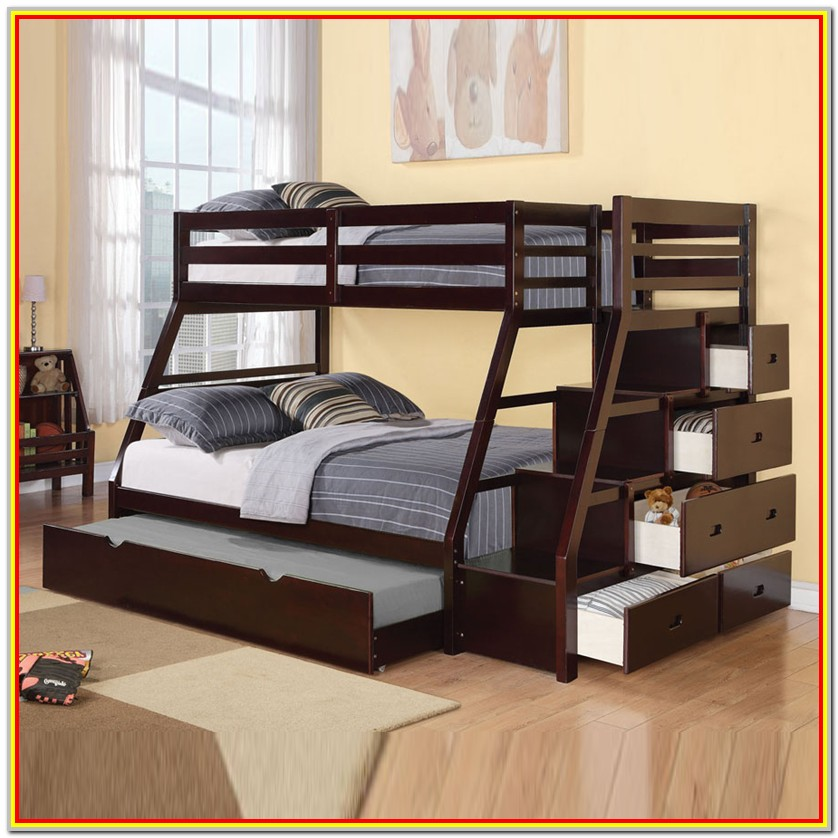 Full Over Full Bunk Bed Plans Free