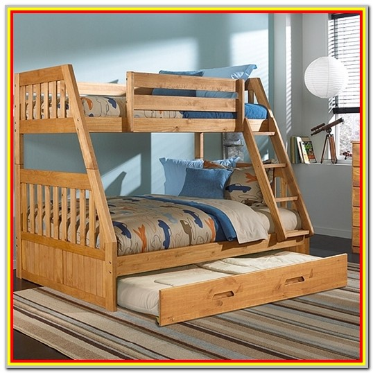 Full Over Full Bunk Bed With Trundle Plans