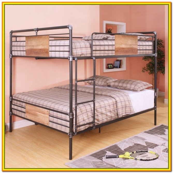 Full Over Queen Loft Bed With Stairs