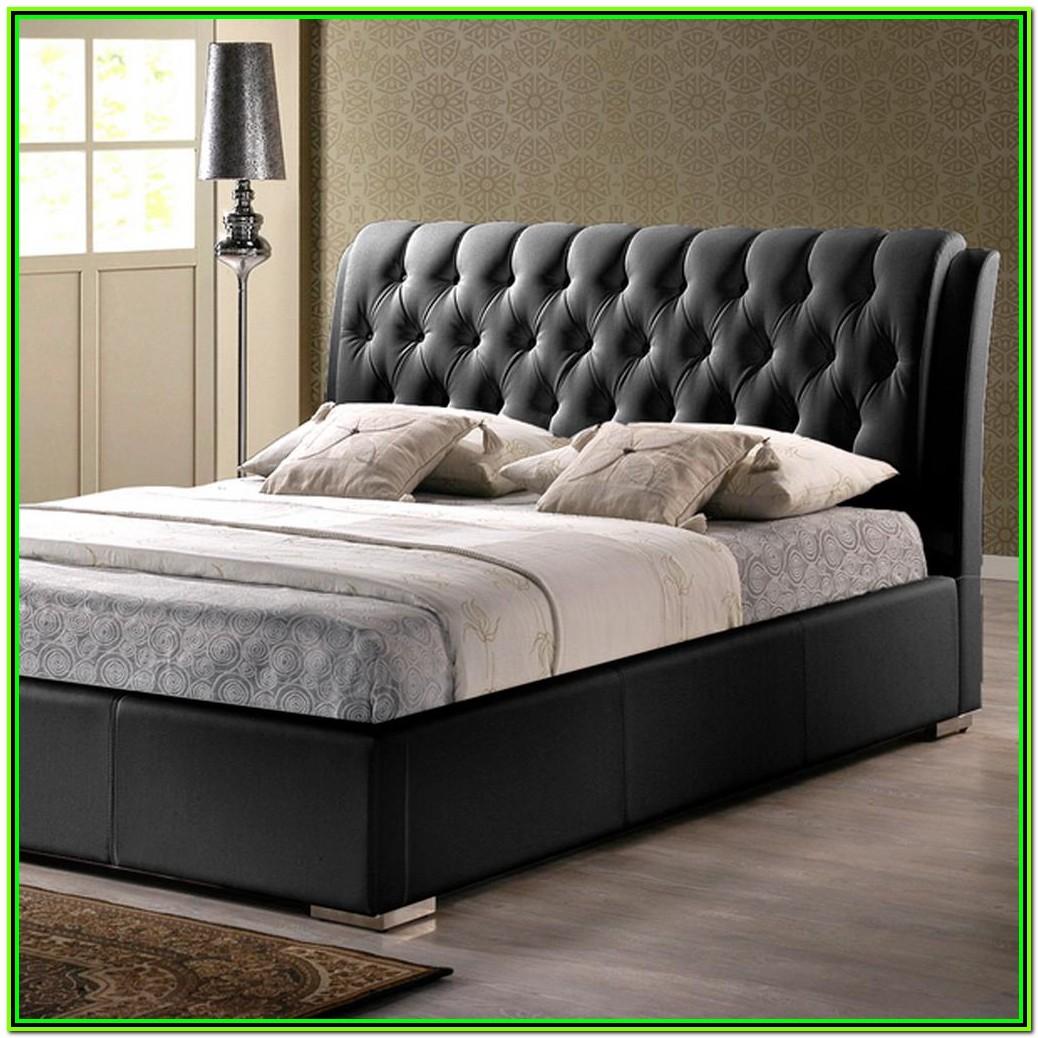 Full Size Bed Headboard Black