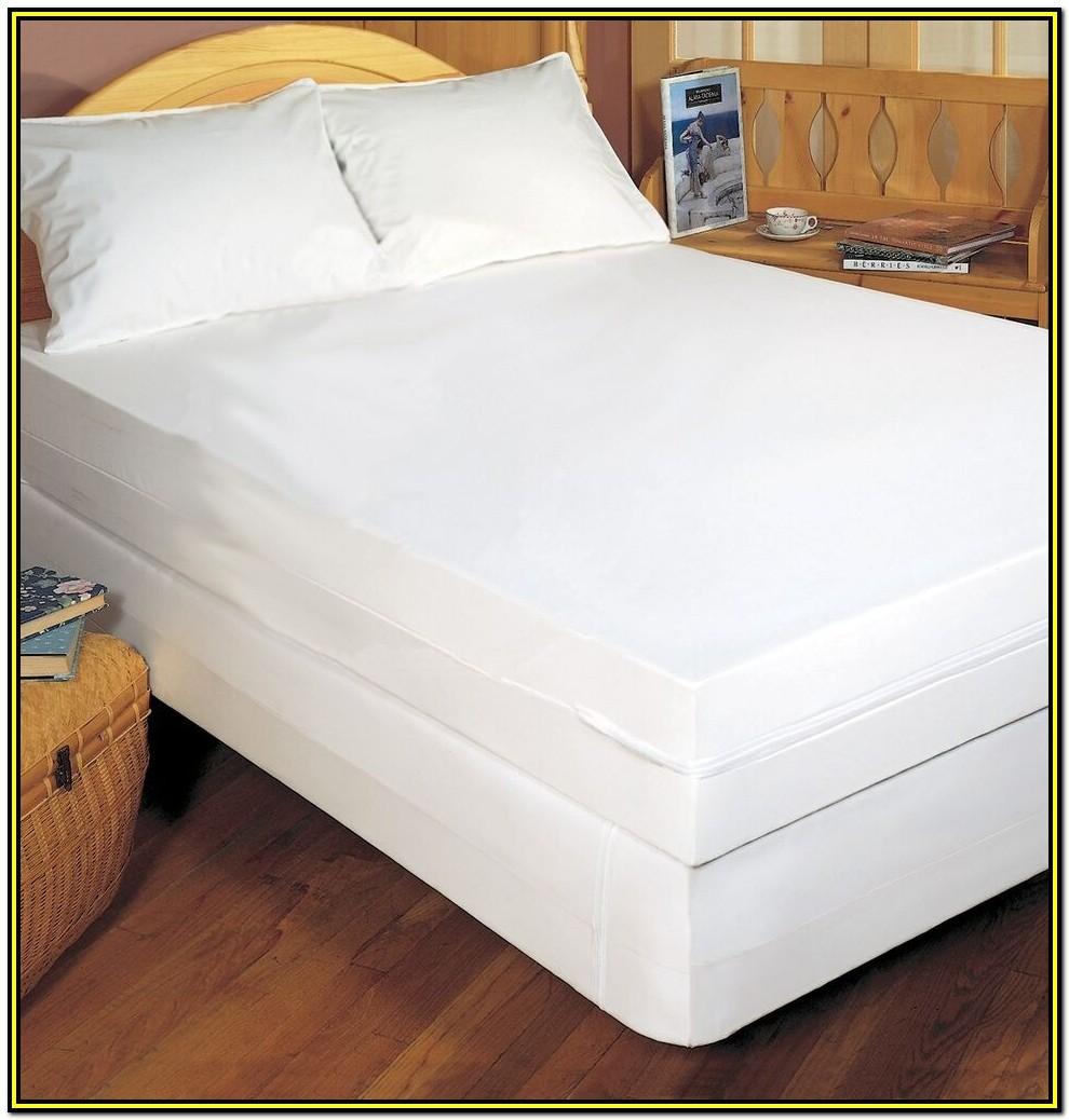 Full Size Bed Waterproof Mattress Pad