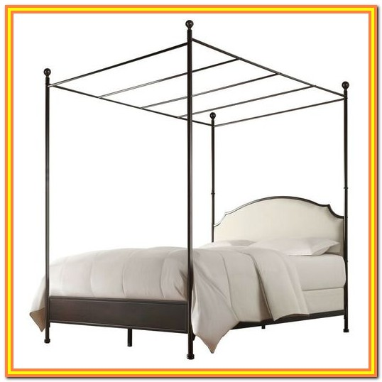 Full Size Canopy Bed Walmart