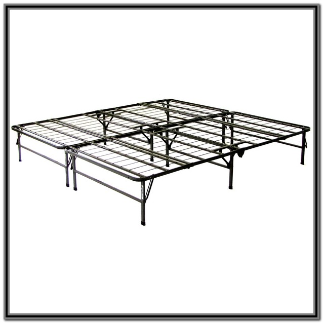 Full Size Foldable Bed Frame