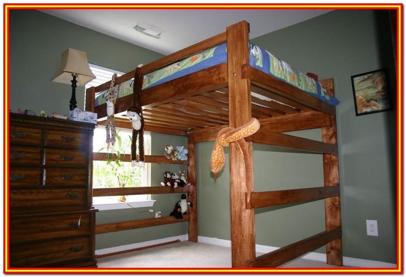 Full Size Loft Bed Frame Plans