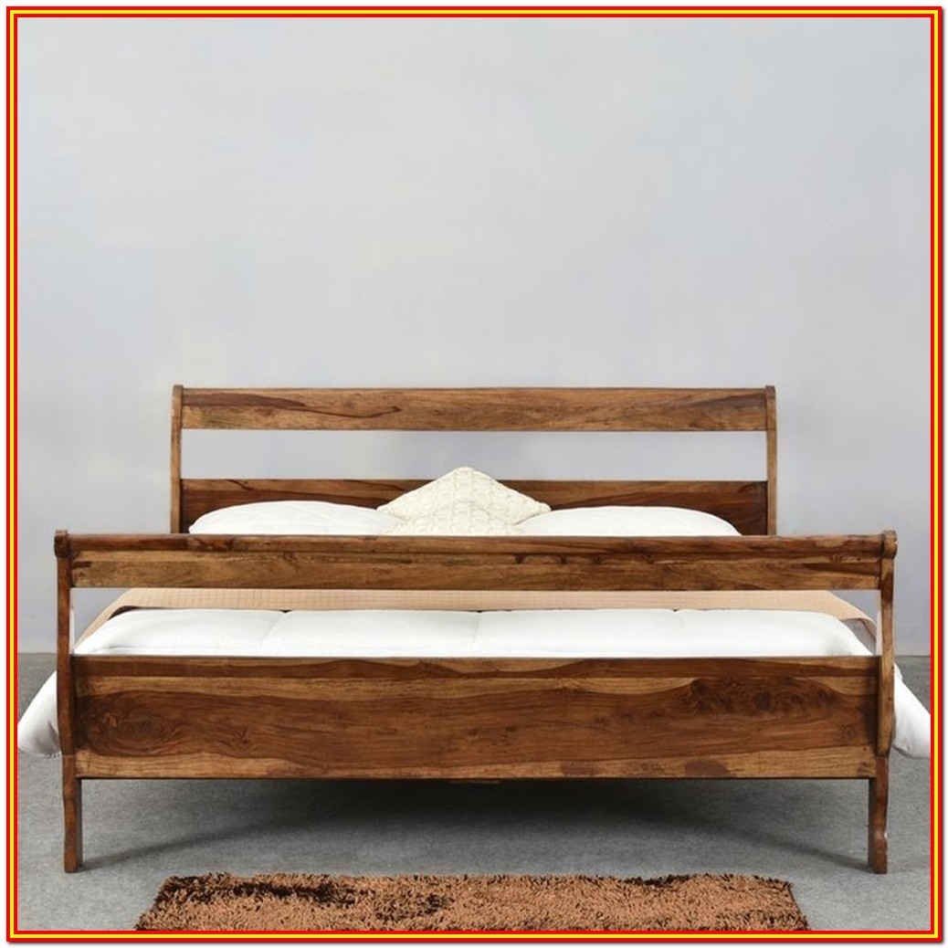 Full Size Loft Bed Frame Wood