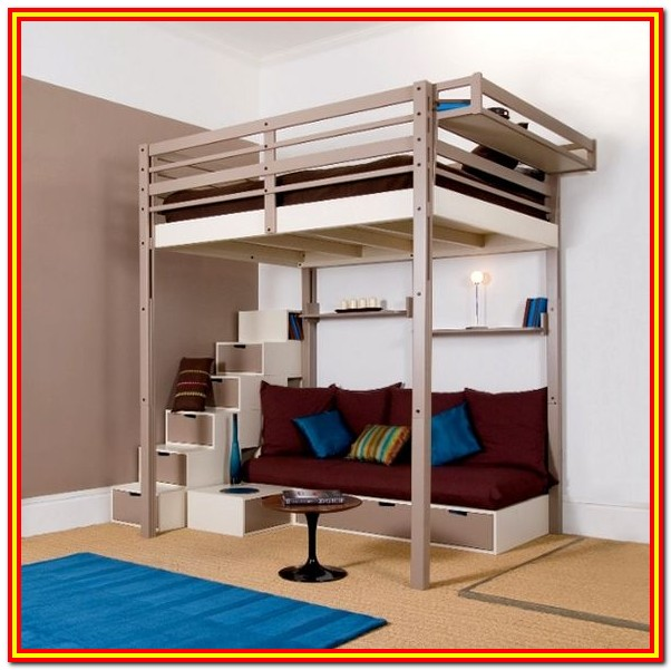 Full Size Loft Bed Plans For Adults