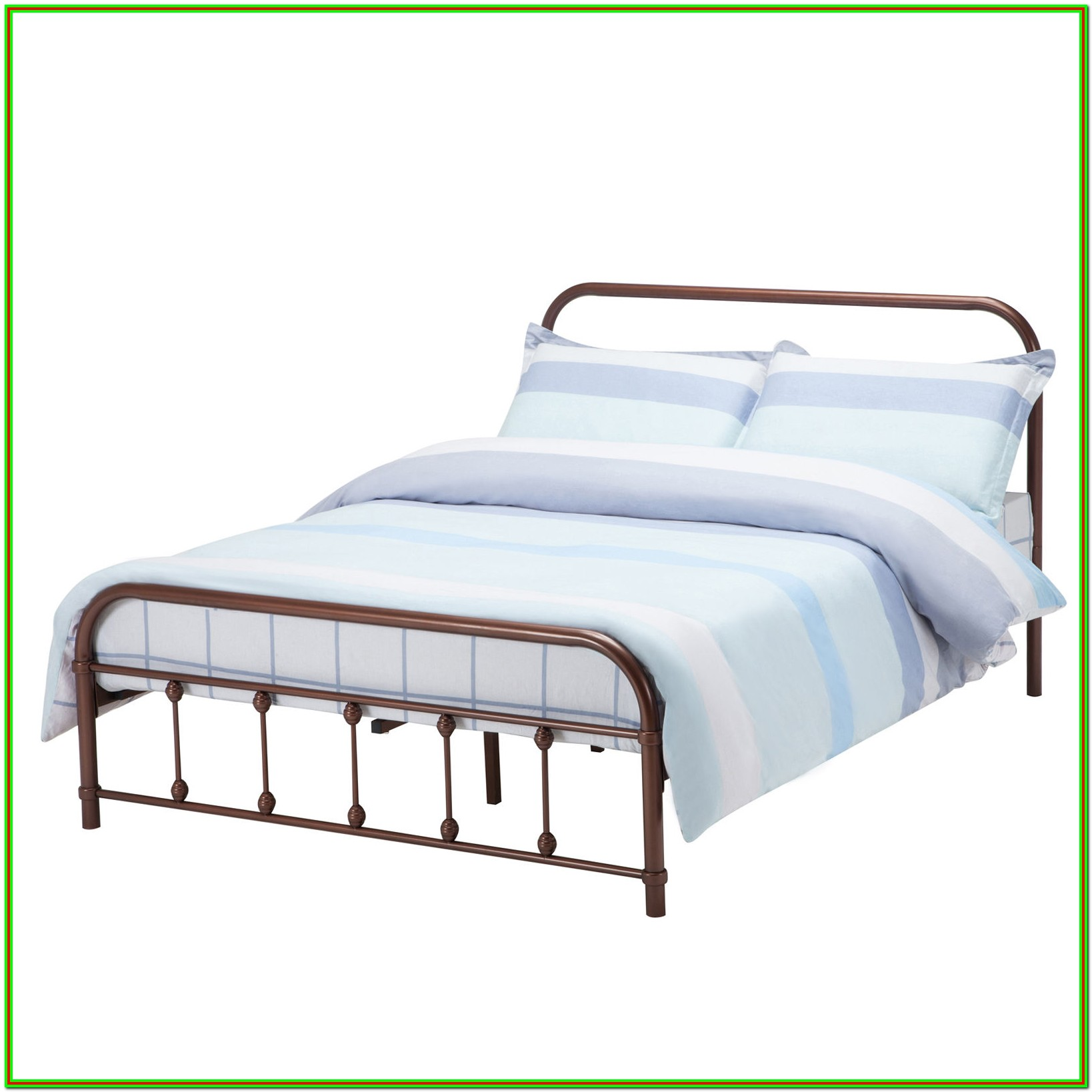 Full Size Metal Bed Frame With Headboard And Footboard