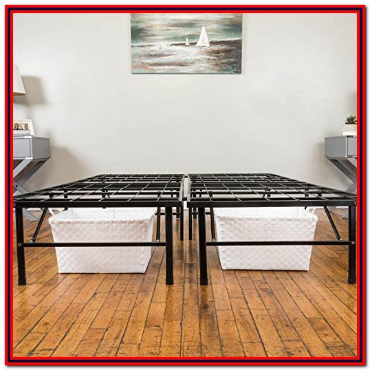 Hercules Metal Platform Bed Frame Twin