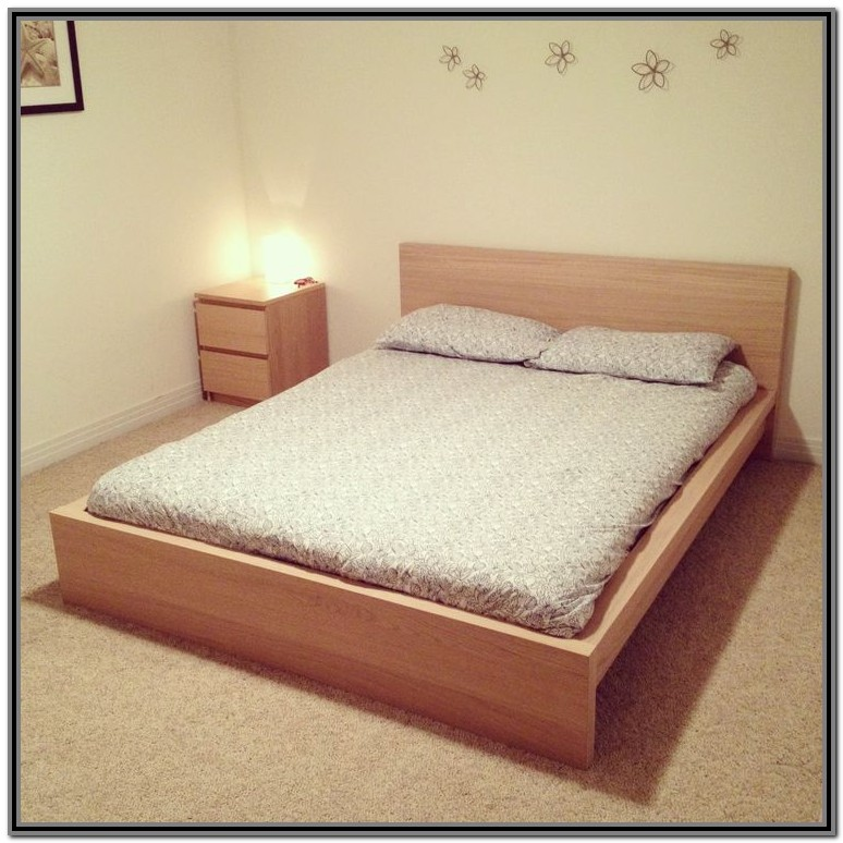 Ikea Malm Bed Frame King Low