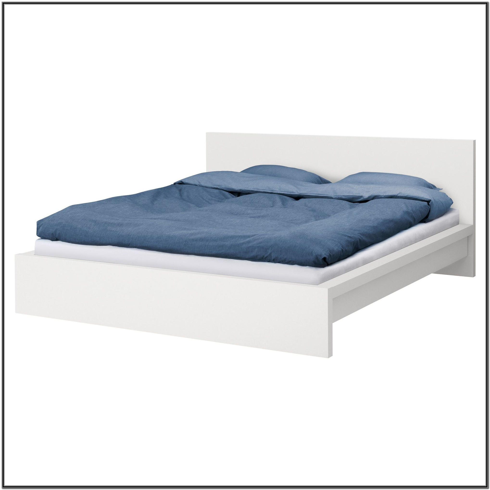Ikea Malm Bed Frame White