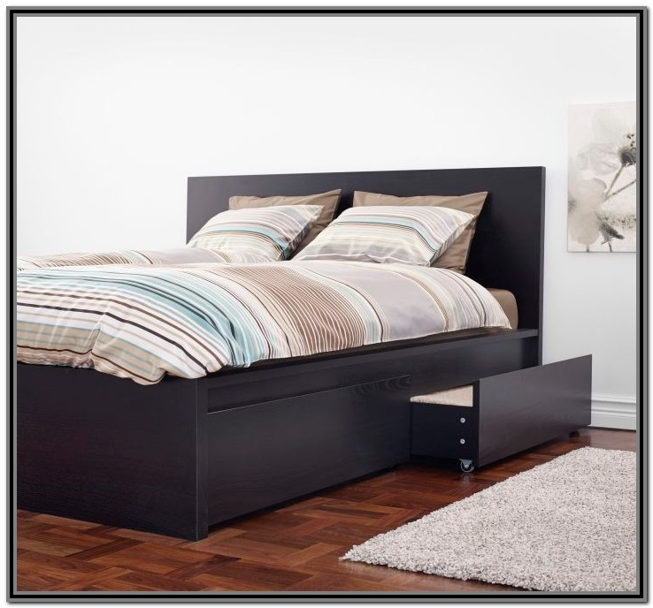 Ikea Malm Bed Frame With Drawers