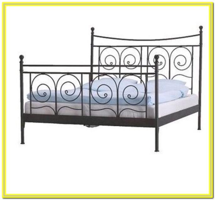 Ikea Super King Metal Bed Frame