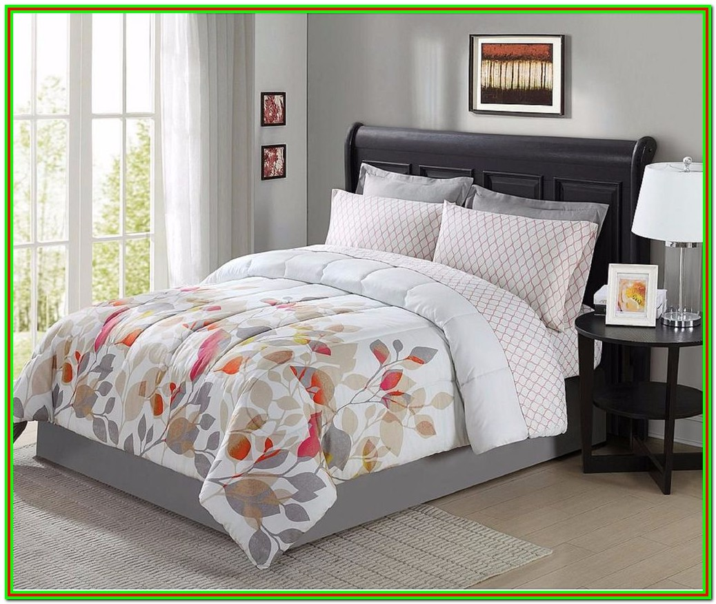 King Size Bed Sheet Set With Comforter