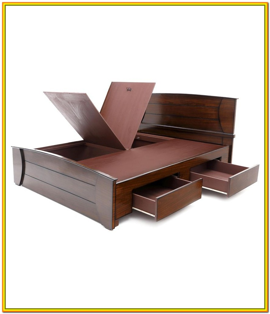 King Size Bed With Storage Designs