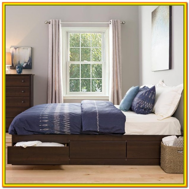 King Size Bed With Storage Drawers In India