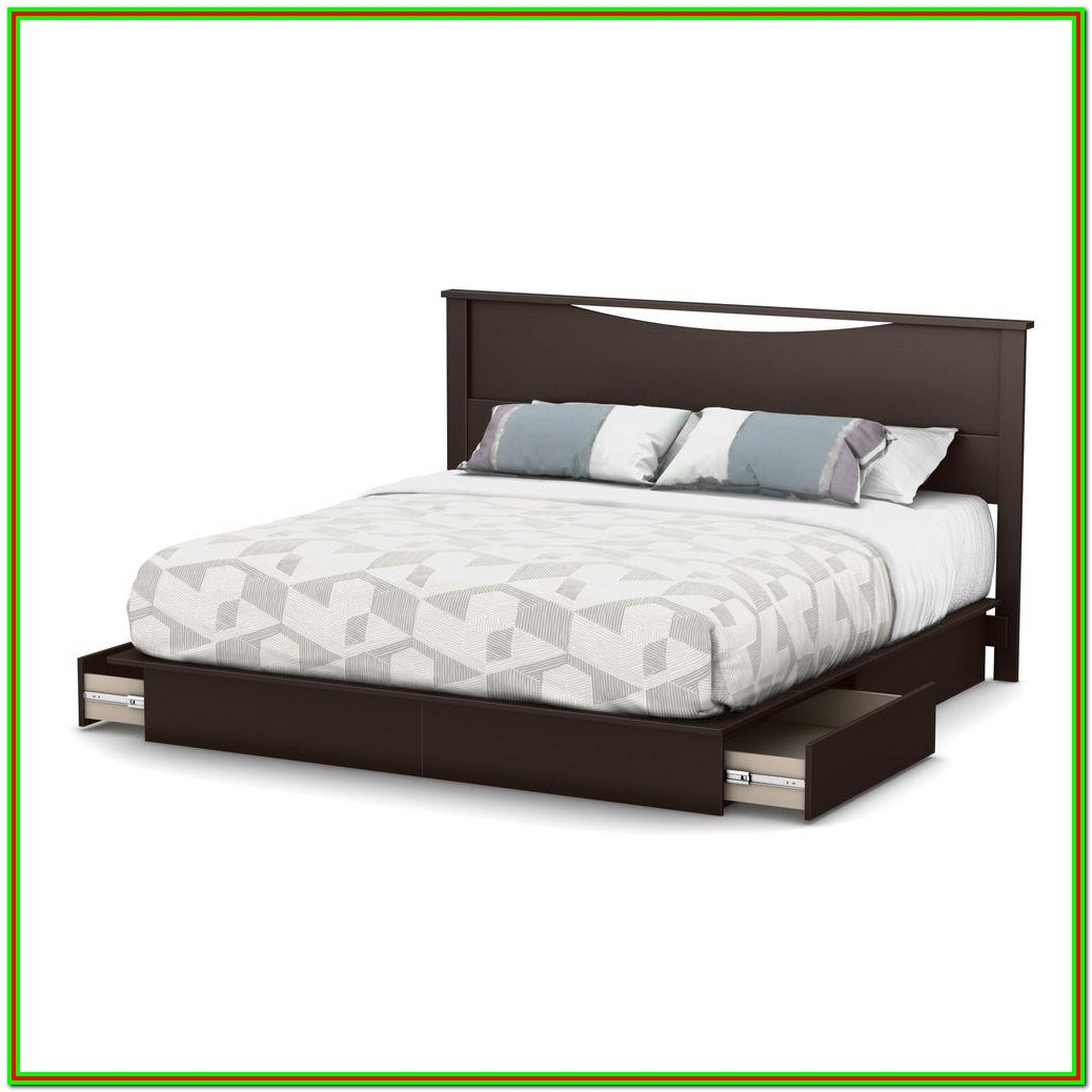 King Size Platform Beds With Drawers