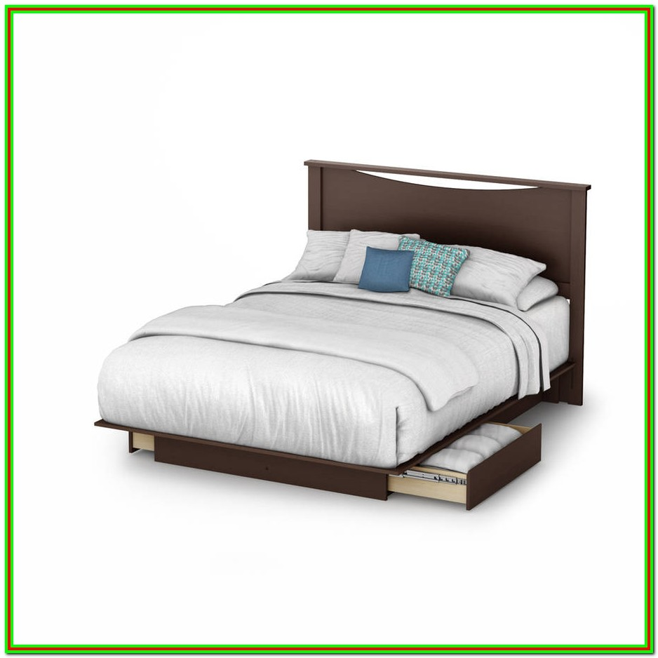King Size Platform Beds With Storage Drawers
