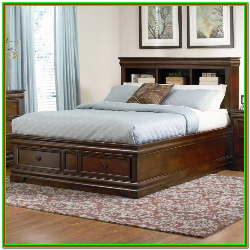 King Size Platform Beds With Storage