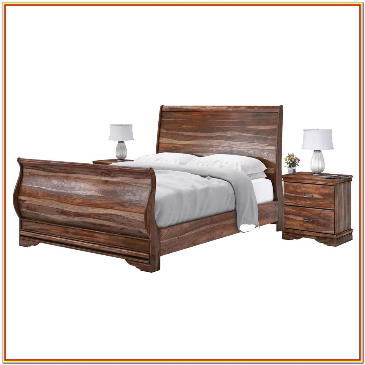 King Size Sleigh Bed Frame Measurements