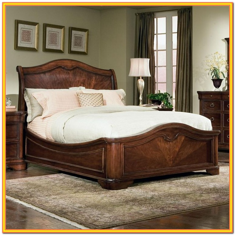 King Size Sleigh Bed Headboard And Footboard
