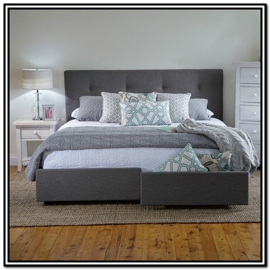 King Size Storage Bed Frame Dimensions